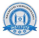 Talmud Yerushalmi Institute Logo